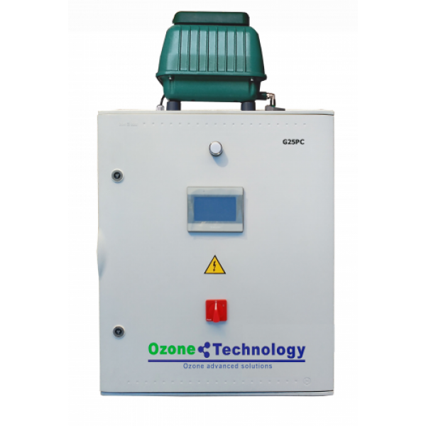 Eξοπλιμός παραγωγής αερίου όζοντος G25