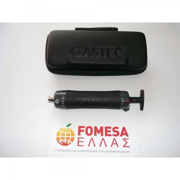 Aντλια GASTEC (Όργανo μέτρησης αερίων εντός των ψυκτικών θαλάμων)